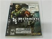 BIONIC COMMANDO - PS3 GAME